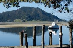 Barca di lusso di pesca sportiva Immagini Stock Libere da Diritti