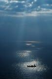 Barca di mare Fotografie Stock