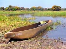 Barca di Mokoro Fotografie Stock Libere da Diritti