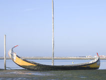Barca di Moliceiro Fotografia Stock
