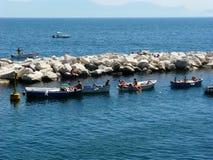 Barca di Napoli Fotografia Stock