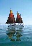 Barca di navigazione fotografia stock