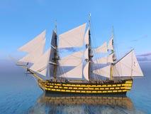 Barca di navigazione Fotografie Stock Libere da Diritti