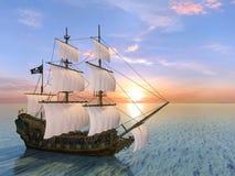 Barca di navigazione Immagine Stock