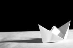 Barca di Origami fotografia stock