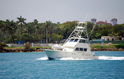 Barca di pesca sportiva immagine stock