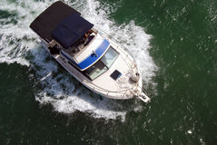 Barca di pesca sportiva fotografie stock libere da diritti