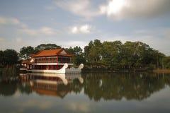 Barca di pietra cinese 2 Immagini Stock