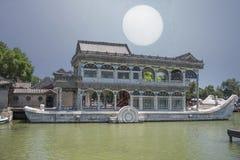 barca di pietra Pechino Fotografia Stock Libera da Diritti