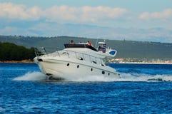 Barca di potenza Fotografia Stock Libera da Diritti