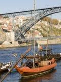 Barca di rebelo di Tradicional Fotografie Stock Libere da Diritti