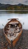 Barca di rematura sola Fotografia Stock Libera da Diritti