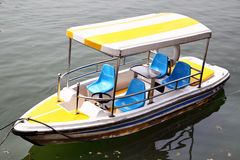 Barca di ricreazione Fotografie Stock