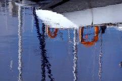 Barca di riflessione in acqua Fotografia Stock Libera da Diritti