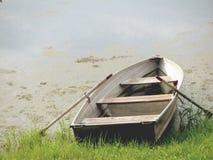 Barca di riga Fotografie Stock
