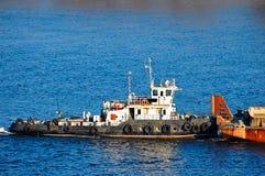 Barca di rimorchio Immagine Stock Libera da Diritti