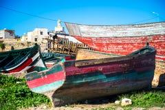 Barca di rinnovamento Immagine Stock Libera da Diritti
