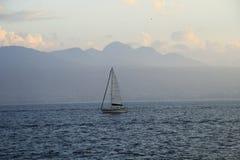 Barca di sigillamento nel lago Immagine Stock Libera da Diritti