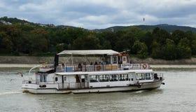 Barca di trasporto pubblico Fotografie Stock