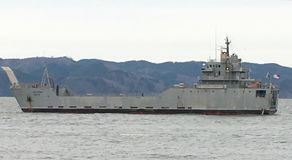 Barca di Uss Fotografia Stock