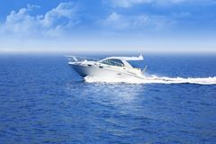 Barca di velocità Immagine Stock Libera da Diritti