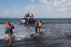 Barca di velocità di Maruti Duta II Fotografia Stock