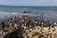 Barca di velocità di Maruti Duta II Fotografie Stock Libere da Diritti