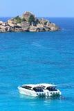 Barca di velocità a Similan Fotografie Stock Libere da Diritti