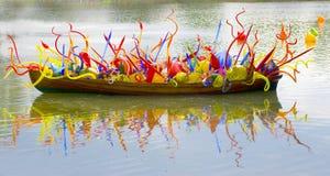 Barca di vetro Immagini Stock