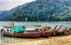 Barca di viaggio Fotografie Stock