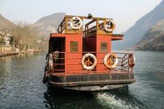 Barca di viaggio Fotografia Stock