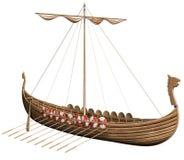 Barca di Viking di fantasia royalty illustrazione gratis