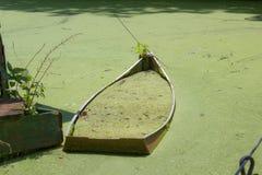 Barca dimenticata Immagine Stock