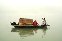 Barca domestica Fotografie Stock