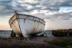 Barca, dopo la pioggia Immagine Stock Libera da Diritti
