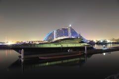 Barca in Doubai Fotografia Stock