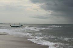 Barca e mare Immagini Stock Libere da Diritti