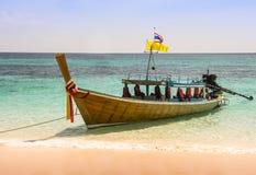 Barca e mare Fotografia Stock Libera da Diritti