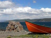 Barca e prese 2 Fotografia Stock Libera da Diritti