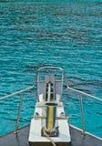 Barca ed ancoraggio Fotografia Stock Libera da Diritti