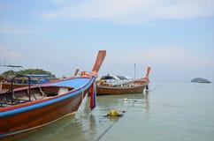 Barca ed il mare Fotografia Stock Libera da Diritti