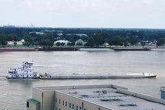 Barca em Mississippi fotos de stock royalty free