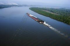 Barca em Mississippi. imagens de stock