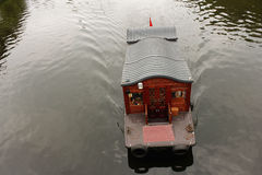 Barca facente un giro turistico Fotografie Stock