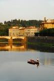 Barca a Firenze Fotografie Stock Libere da Diritti