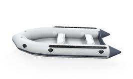 Barca gonfiabile Fotografie Stock