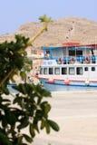 Barca in Grecia Fotografie Stock Libere da Diritti
