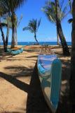 Barca hawaiana Immagini Stock