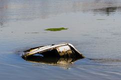 Barca incavata immagine stock