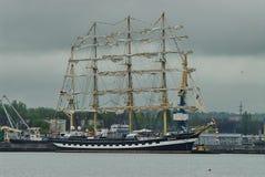Barca Kruzenshtern de la nave Imagen de archivo libre de regalías